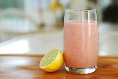 Vday, Strawberry, Milkshake
