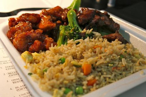 Chicken, Rice