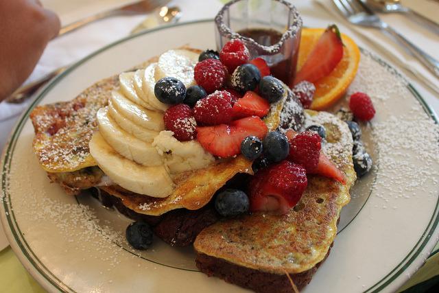 Pancake, Fruit