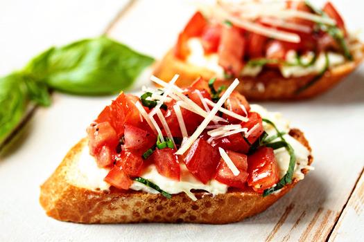 Tomato, Bruschetta