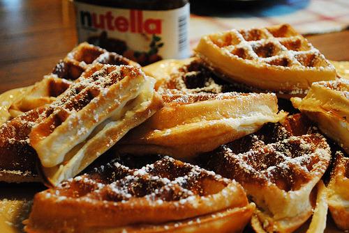 Waffle, Chocolate