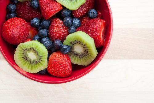 Blackberry, Strawberry, Fruit, Kiwi