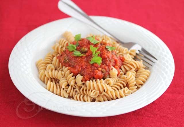 Pasta Puttanescafind More Recipes At Http://La-Food.Tumblr.Com