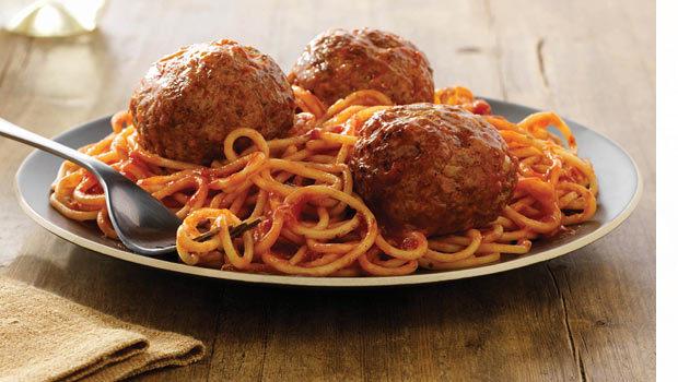 Meatballs With Spaghetti