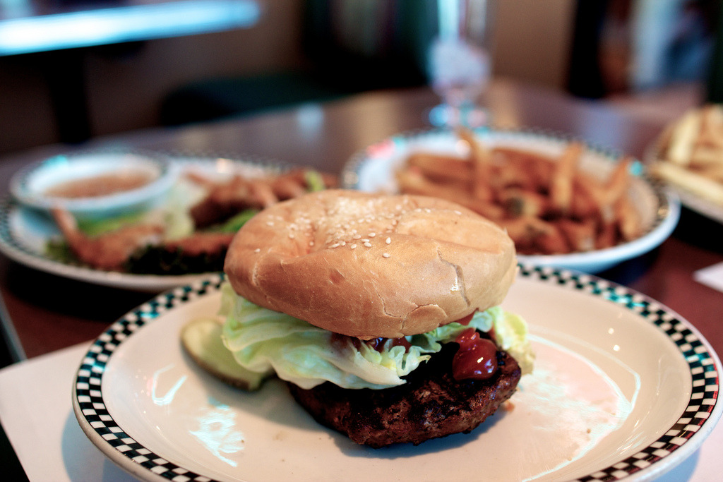 New Orleans Burger (by J.PerkProductions)