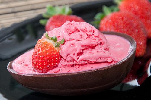 Strawberry, Ice-Cream
