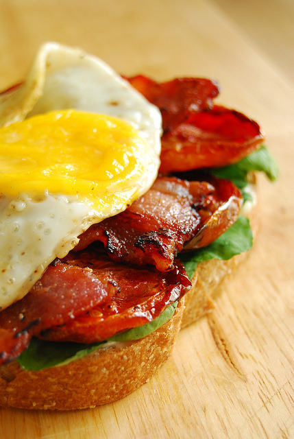 BLT with Egg.