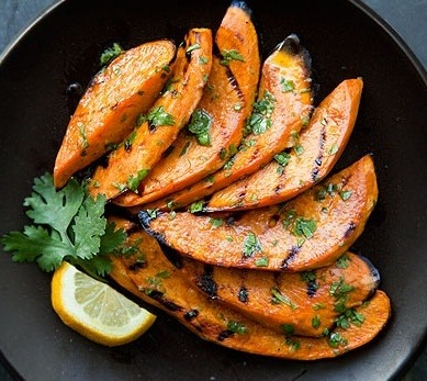Grilled Sweet Potatoes via beautiful-foods