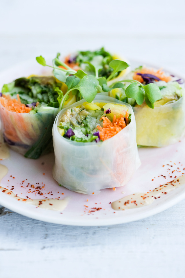 Fresh Veggie Summer RollsReally nice recipes. Every hour.