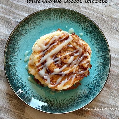 Breakfast, Cinnamon Roll, Pancake, Foodporn, Pancakes