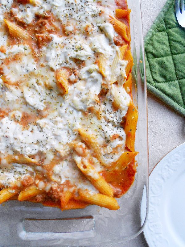 Recipe: Baked Penne with Beef