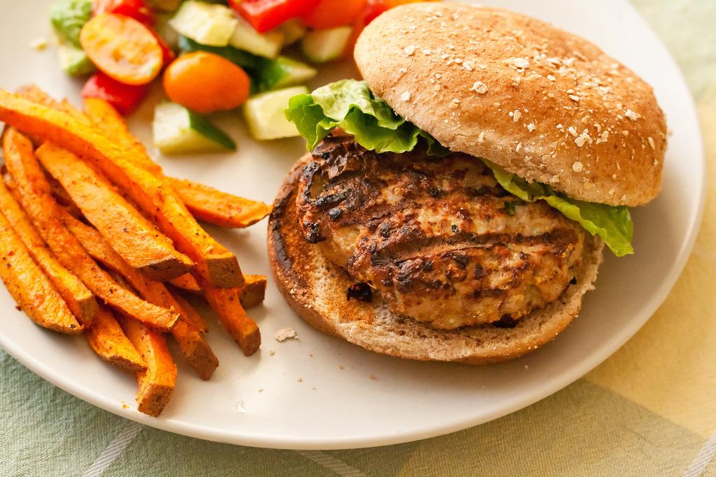 Recipe: Jerk Turkey Burgers