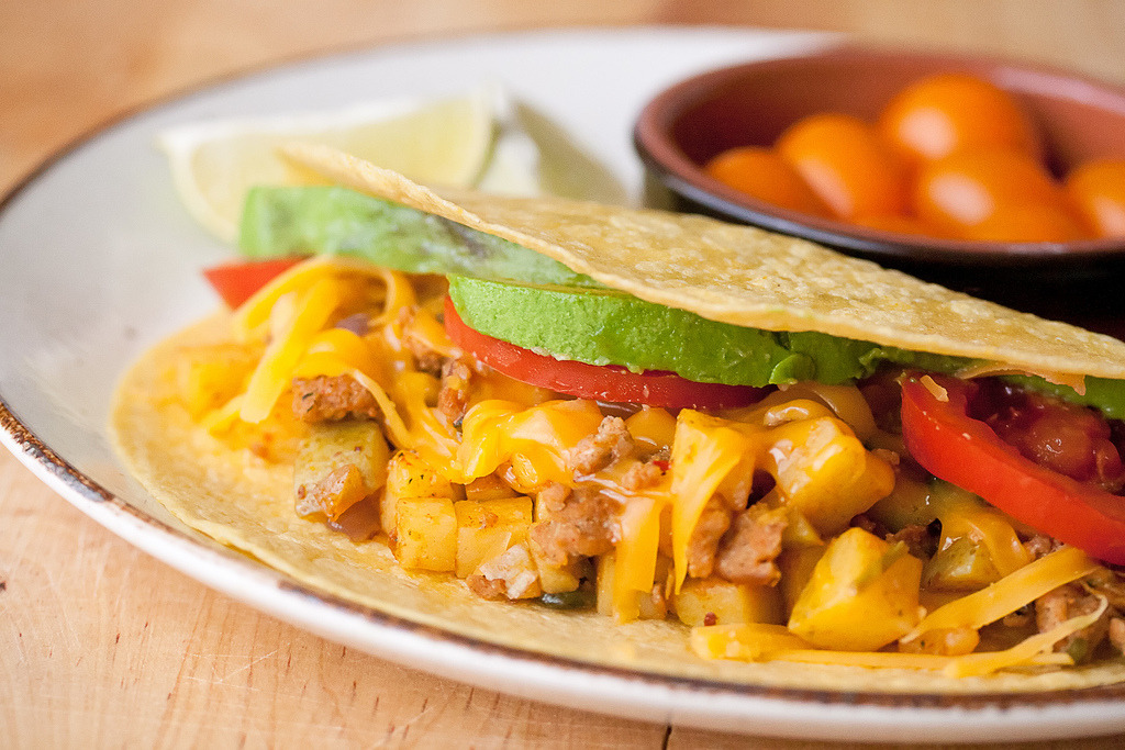 Recipe: Chorizo and Potato Tacos