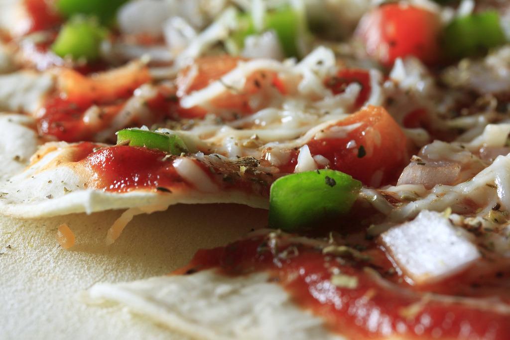 Grilled Veggie Pizzas
