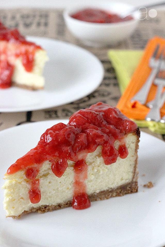 NY Style Birthday Cheesecake