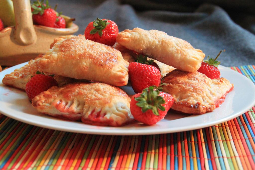 Strawberry & Milk Chocolate Pastries (by littlebird.)