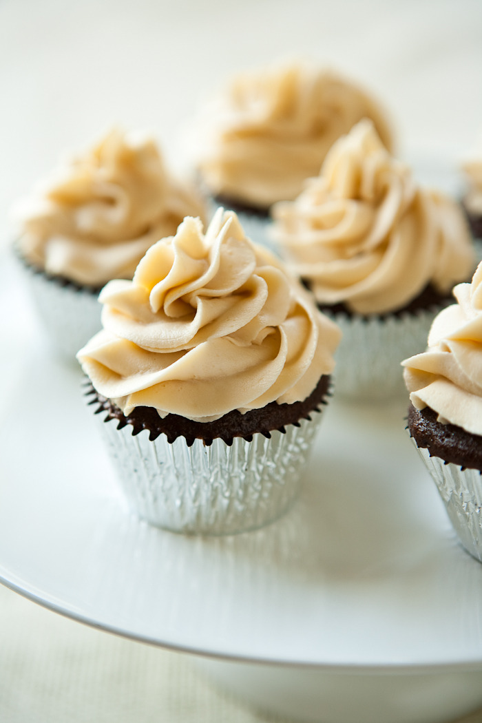 Recipe: Chocolate Stout Cupcakes with Irish Cream Buttercream
