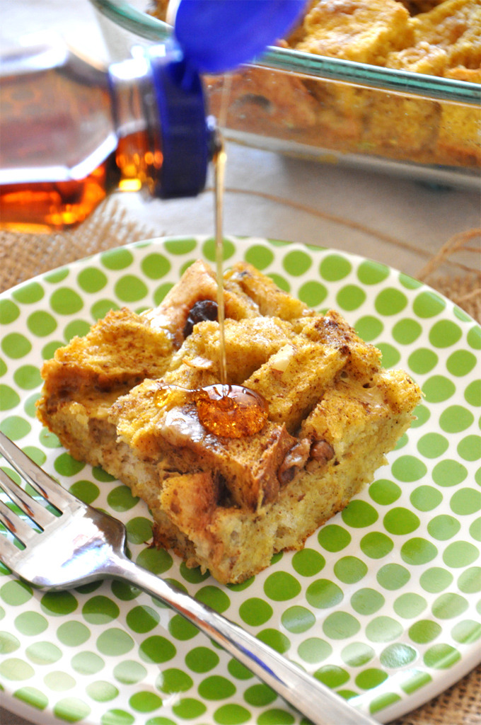 Recipe: Pumpkin French Toast Bake