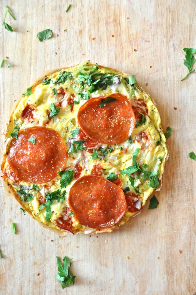Recipe: Pizza Frittata