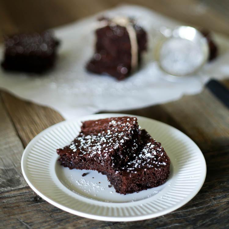 Gluten Free Fluffy Brownies