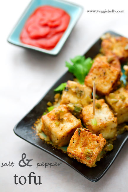 Chinese Salt and Pepper Tofu