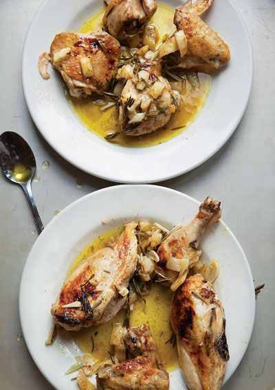 Lemon & Rosemary Chicken (via Saveur)