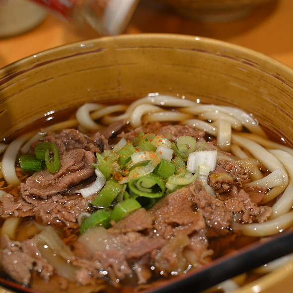 Niku Udon at Manpuku Japanese Eatery in Toronto, ON
