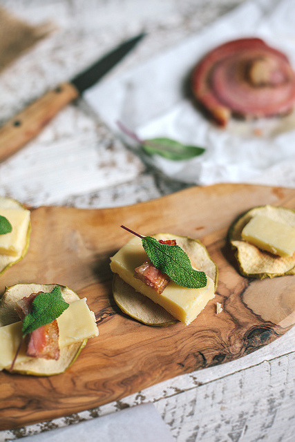 Pancetta, Sage, + Apple Crisps Adventures in Cooking by Eva Kosmas Flores Adventures in Cooking on Flickr.