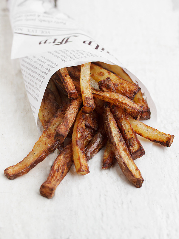 fries over guys.