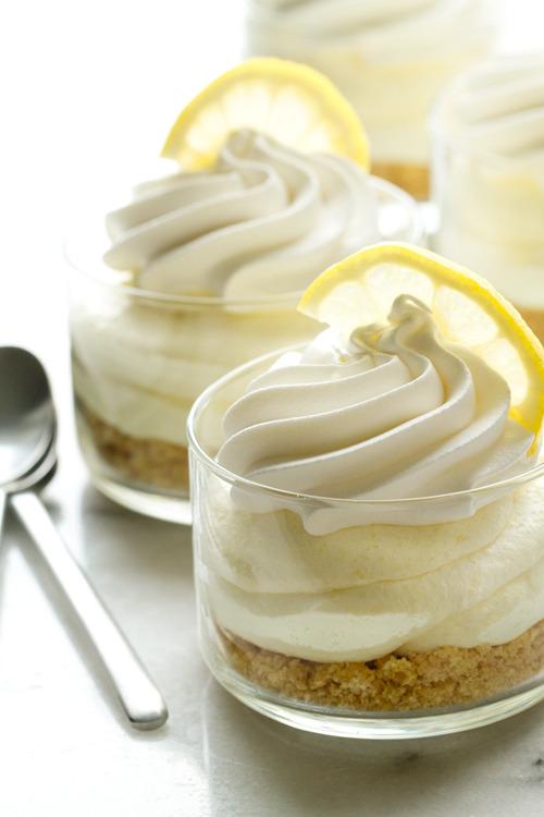 No Bake Lemon Oreo Cheesecake