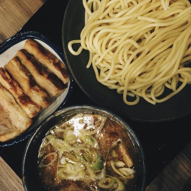Pork Tsukemen by pandaimeeceatsIG
