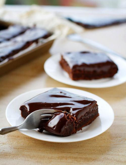 Brownie, Cake, Chocolate