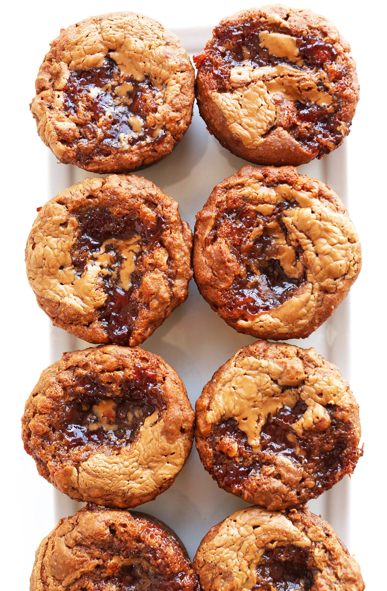 This is my everything.Peanut Butter and Jelly Muffins (Vegan & Gluten-free) via Minimalist Baker