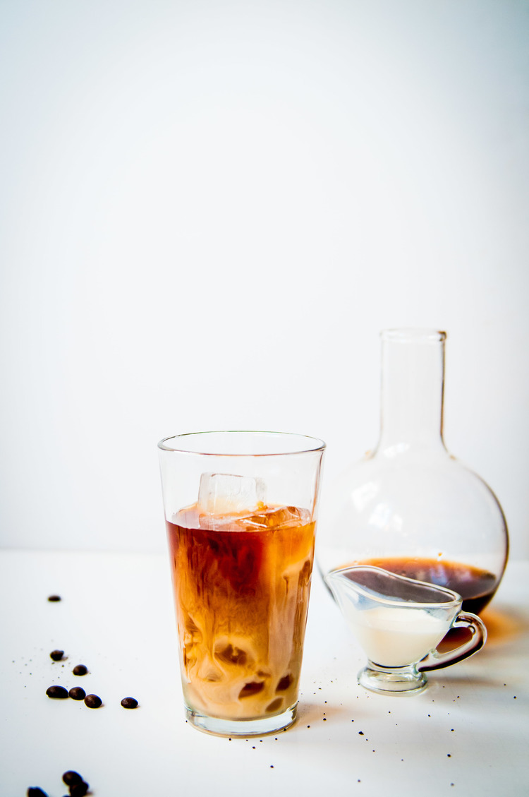 Cold Brew French Press Coffee Fork Spoon Knife